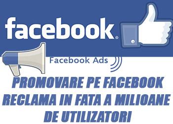 Promovare Facebook