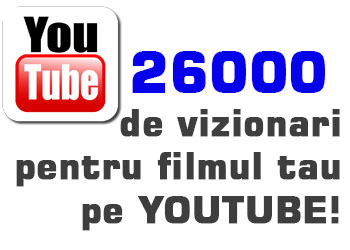 Vizite Trafic Youtube