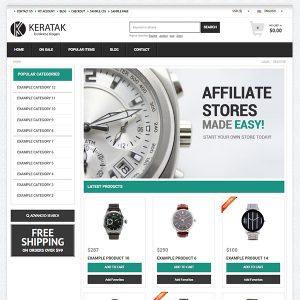 creare magazin online ceasuri