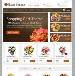 creare magazin online flori