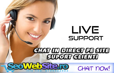 Chat in direct pe site suport clienti