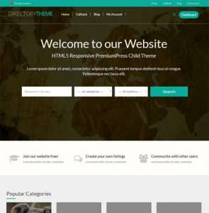 Creare Site Director Web demo 2