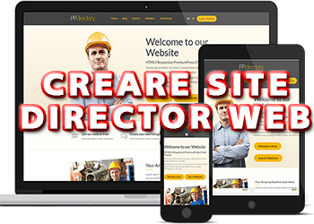 Creare Site Director Web