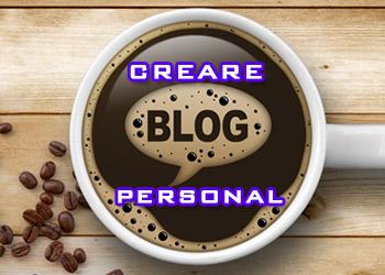 Creare blog personal