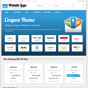 Creare site web cupoane reduceri varianta 1