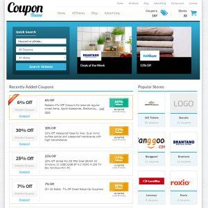 Creare site web cupoane reduceri varianta 2