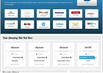 Creare site web cupoane reduceri