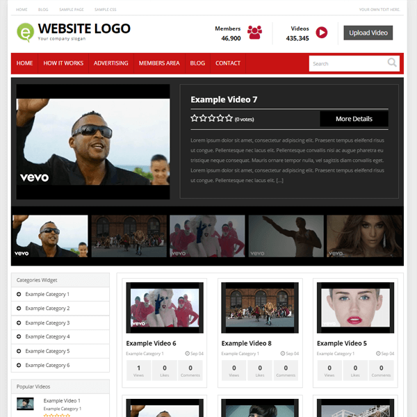 Creare site web tutoriale video Youtube