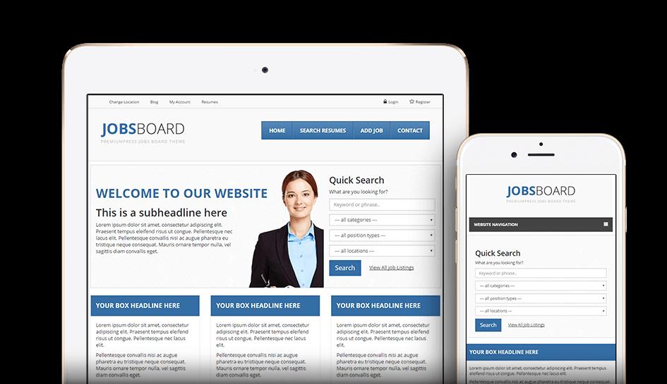 Realizare site locuri de munca