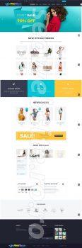 creare magazin online haine femei